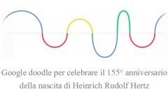 HEINRICH RUDOLF HERTZ: logo Google curiosità