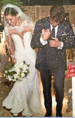 ... abito della neo sposa. Aggiornamento oggi 25 settembre 2013