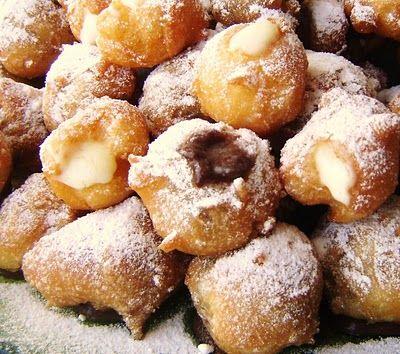 castagnole alla nutella bimby