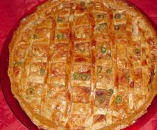Torta prosciutto e formaggio bimby