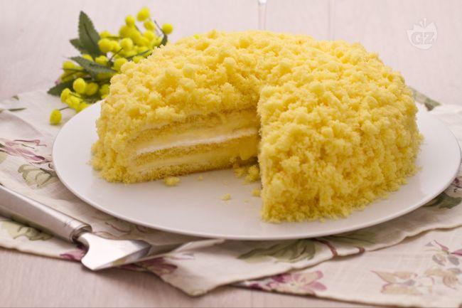 torta mimosa bimby
