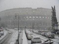 SCUOLE CHIUSE ROMA: allarme neve Protezione Civile