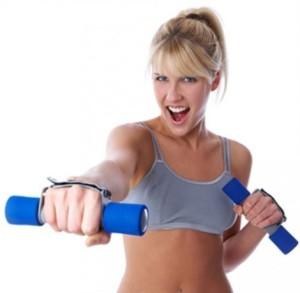 dimagrire braccia esercizi