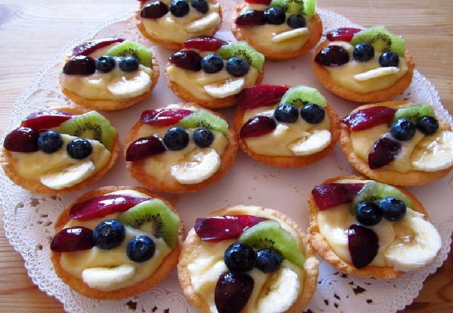 crostatine alla frutta bimby