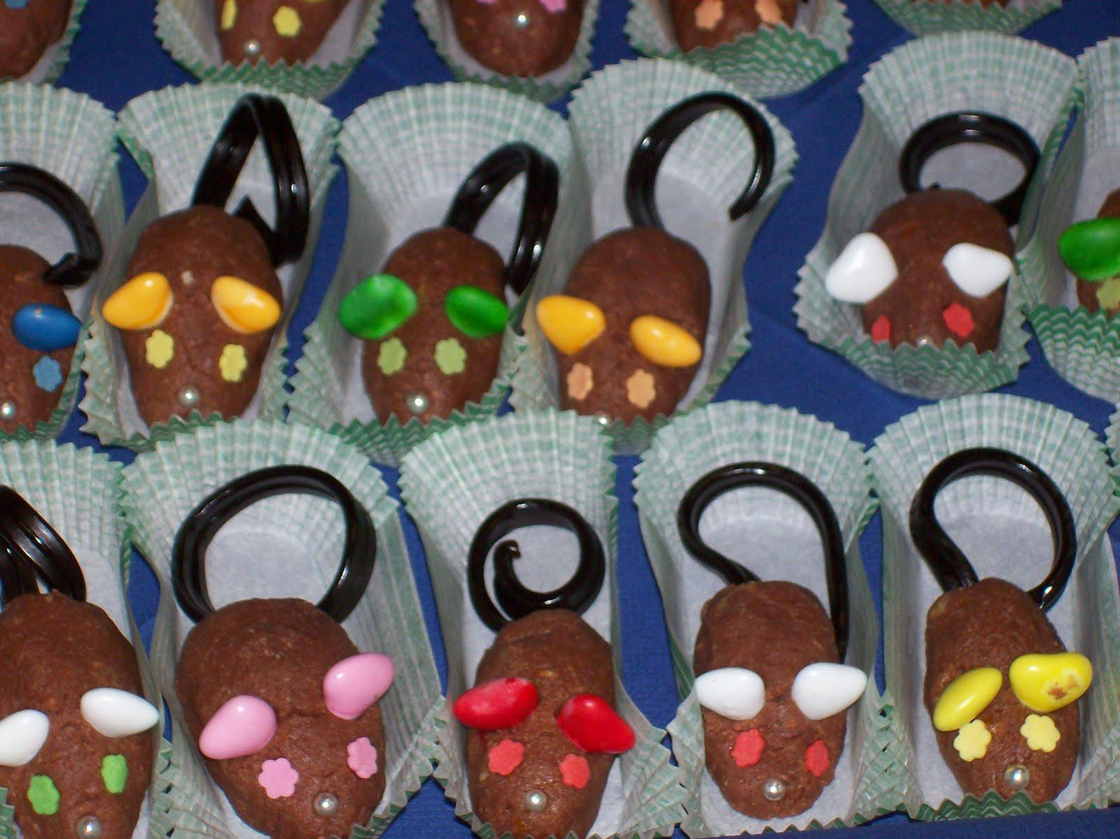 topolini al cioccolato bimby
