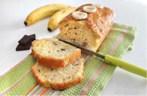 plumcake banane e cioccolato