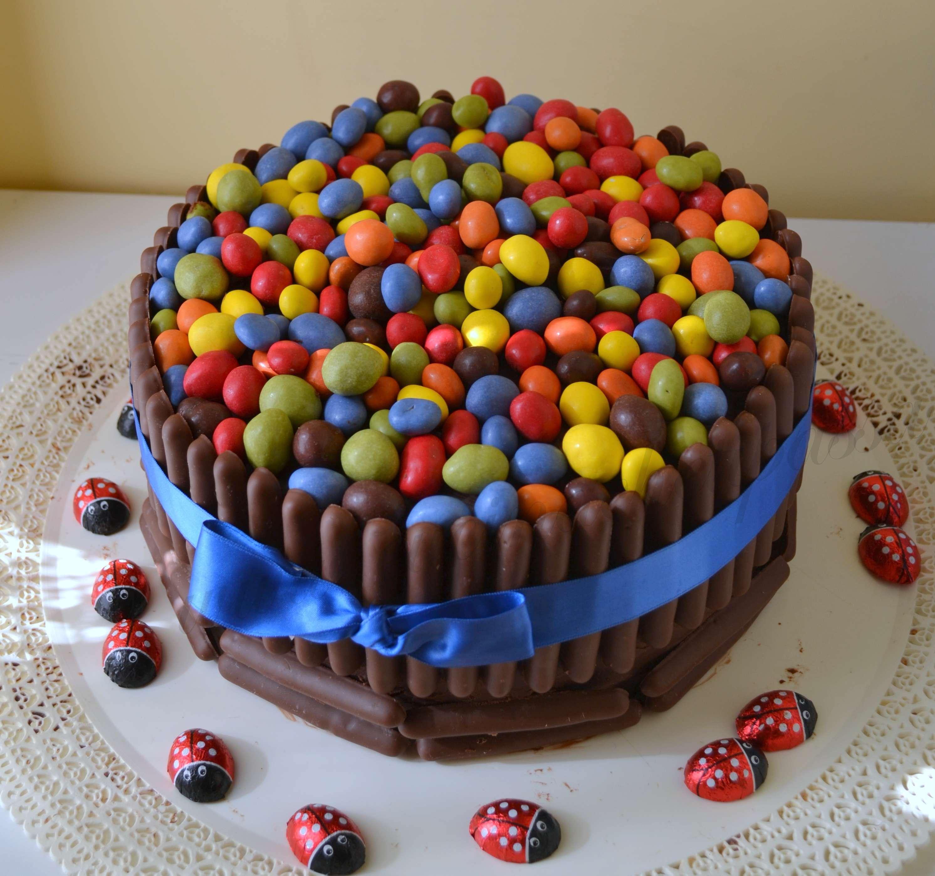 torta smarties bimby