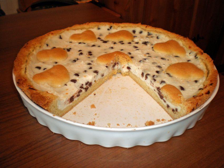 crostata cacao ricotta