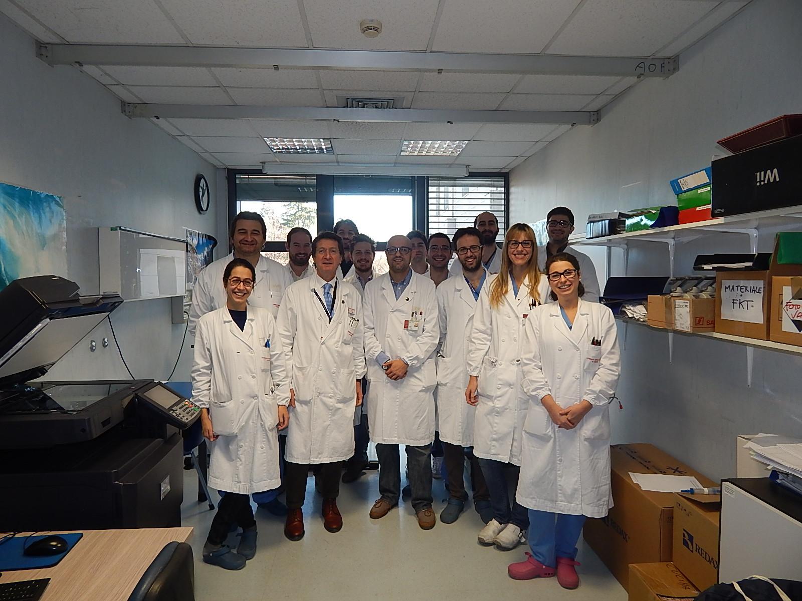foto equipe Chirurgia Toracica