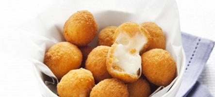palline mozzarella impanate