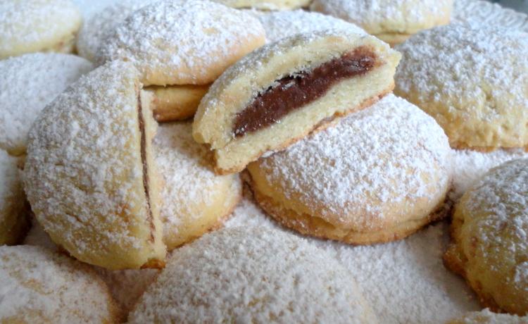 biscotti ripieni di nutella bimby