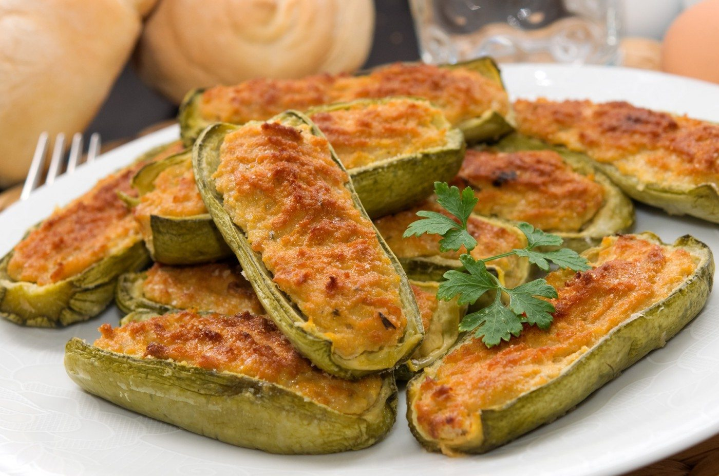 Zucchine ripiene ricetta Bimby