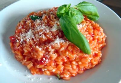 Risotto ai pomodorini freschi e basilico ricetta Bimby