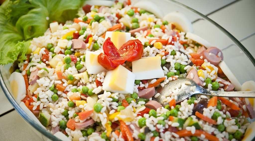 Insalata di riso Bimby facile da preparare e gustosissima