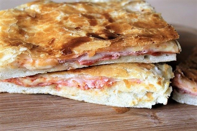 Pizza rustica con prosciutto e formaggio ricetta Bimby