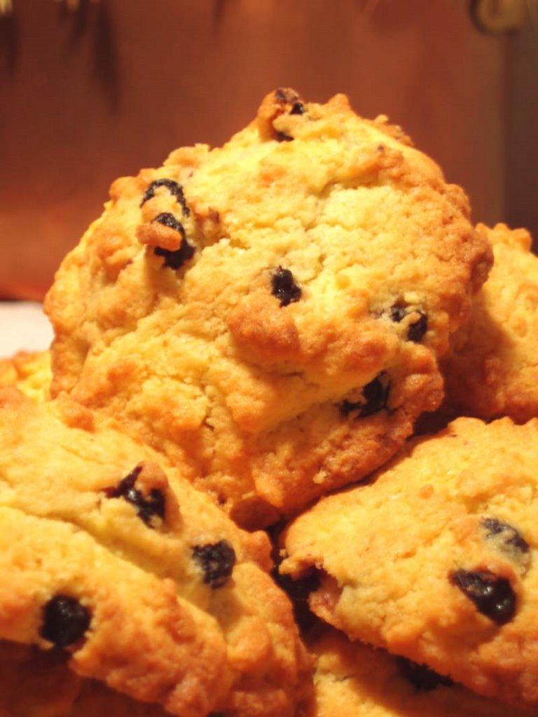 Biscotti di mais con gocce di cioccolato Bimby: colazione light