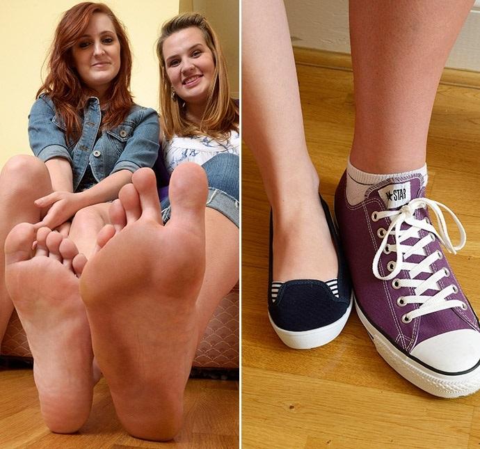 Donna con i piedi più grandi d'Europa: 33 cm di lunghezza