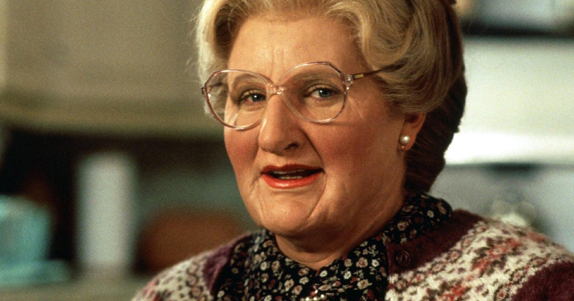Mrs Doubtfire, spunta una versione vietata i minori con un WIlliams mattatore