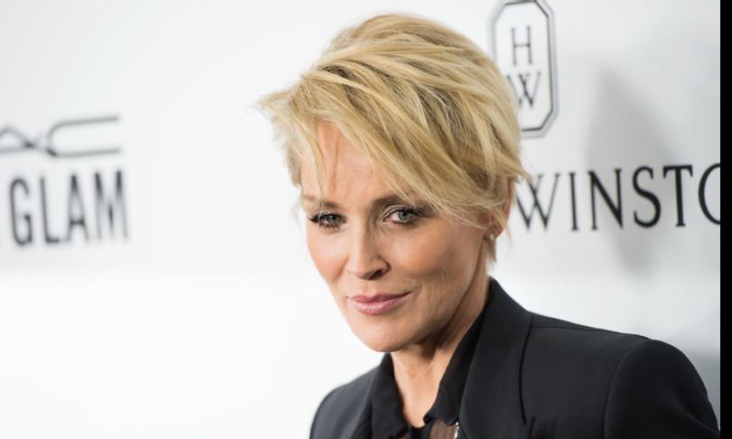 Sharon Stone da Fabio Fazio tra film, religione e marijuana